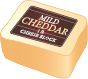 Labeled Cheese Block