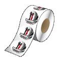 Roll of custom printed labels