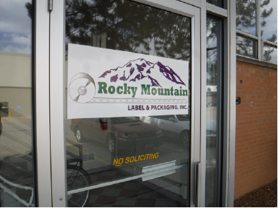 Front Door at Rocky Mountain Label and Packaging