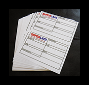 Icon for laser sheet labels product page